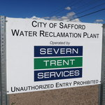 Safford water reclamation plant