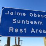 Sunbeam rest area westbound