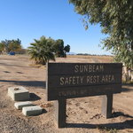 Sunbeam rest area westbound