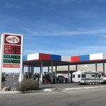 Mr t gas station