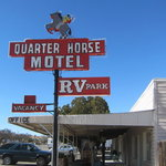 Quarter horse motel rv park