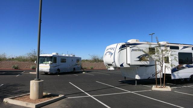 casino arizona parking