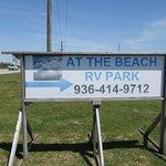 At the beach rv park