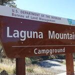 Laguna mountain campground