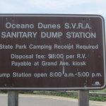 Oceano dunes svra dump station