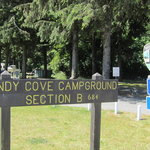 Windy cove campground section b
