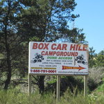 Box car hill campground