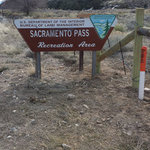Sacramento pass recreation area