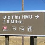 Big flat habitat management unit