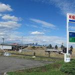 Exxon gas station post falls id