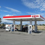 Exxon gas station post falls id