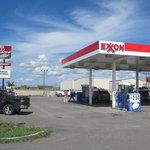 Exxon gas station driggs id