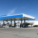 Chevron gas station woods cross ut