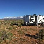 Hurricane cliffs campsites 55 56