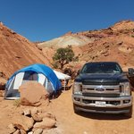 Capitol reef overflow