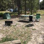 Colter bay village campground