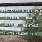 Green acres mobile park