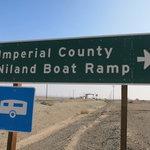 Niland boat ramp