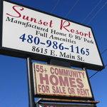 Sunset resort mobile home rv park