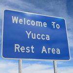 Yucca rest area