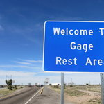 Gage rest area