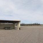 Fort selden rest area southbound