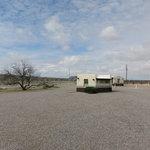 Fort selden rest area northbound