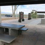 Fort craig rest area northbound