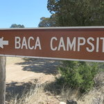Baca campground