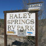 Haley springs rv park
