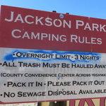 Jackson park campground
