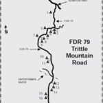 Trittle mountain road
