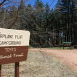 Airplane flat campground