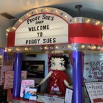 Peggy sues 50s diner