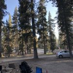 Western big meadow road camping area