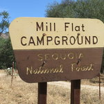 Mill flat campground
