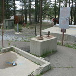 Tuolumne meadows dump station