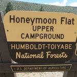 Upper honeymoon flat campground