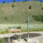 Sawtooth nra dump station