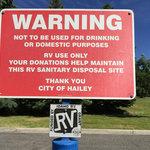 Hailey dump station