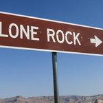 Lone rock dump station