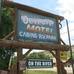 Outpost motel cabins rv park