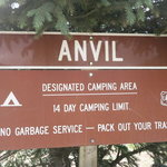 Anvil camping area
