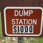 Twin lakes rv dump station