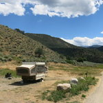 Radium campground
