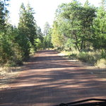 Mud lake trailhead