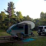Sawmill road campsite