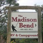 Madison bend cabins rv park