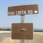 Fish creek road