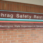 Schrag safety rest area westbound